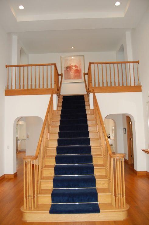 oak+trim+and+white+walls | Painting Oak Trim - Interior ...