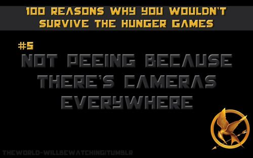 This would be the number one reason I'd die in the arena.