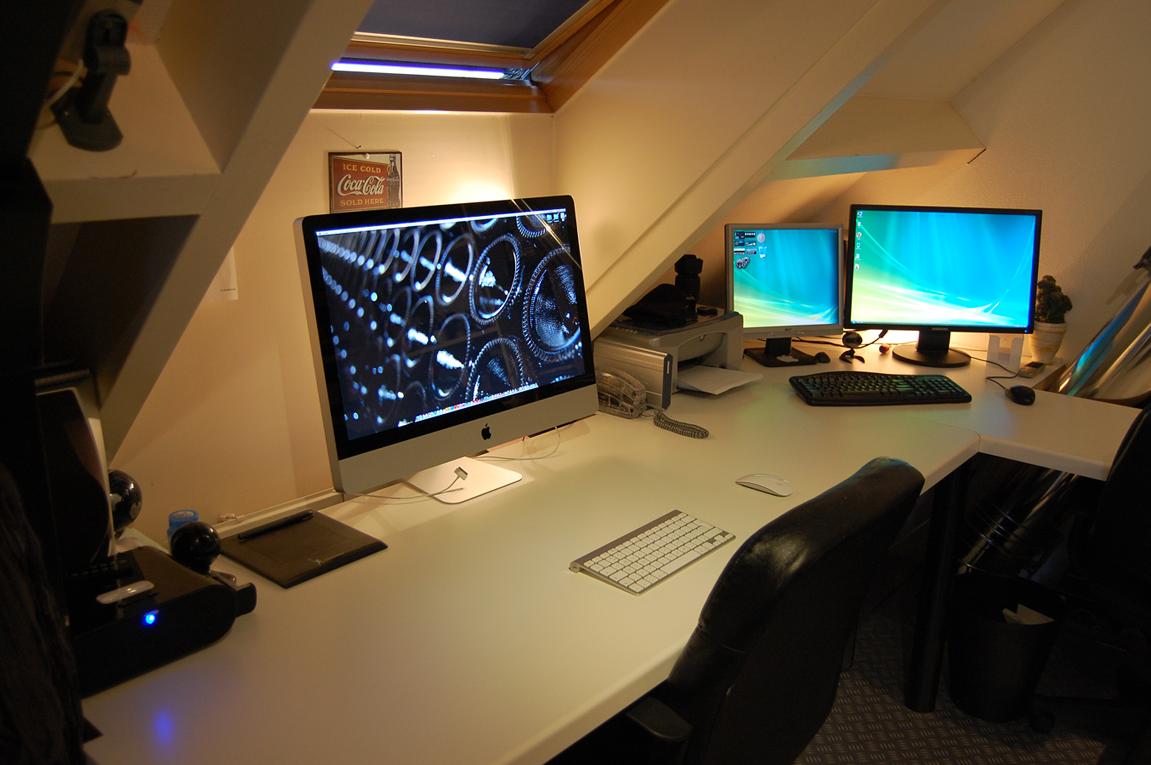 Awesome computer setups - Computer Desk Setup