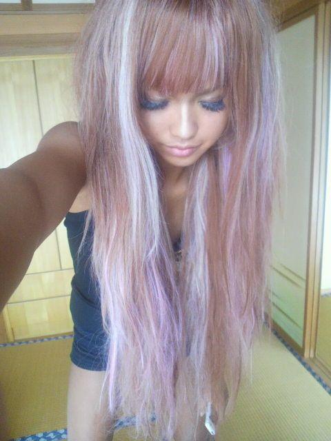 Lavender And Honey Gyaru Blondes And Hair Coloring