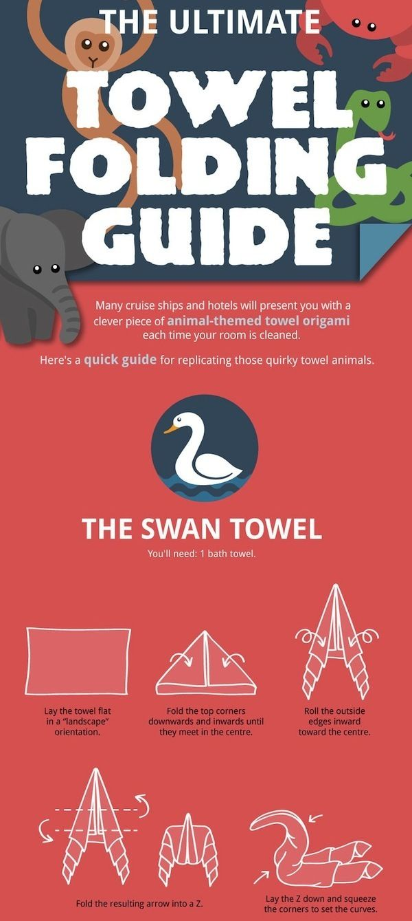 how to fold a napkin into a swan