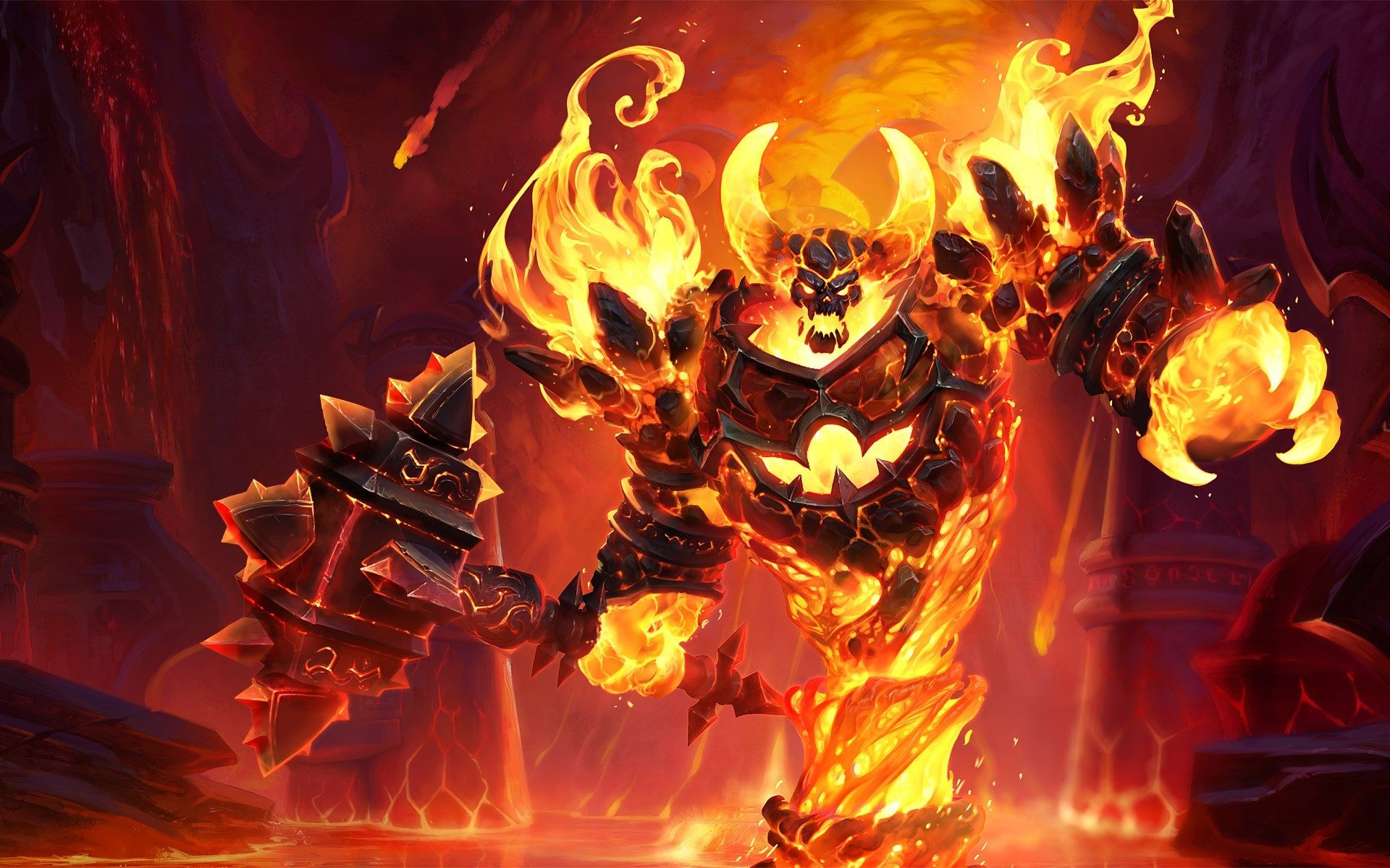 1920x1200 Ragnaros Computer Backgrounds Wallpaper Heroes Of The