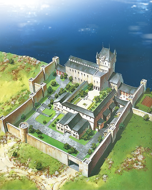 Carmenmcs: Suikoden   North Window Castle Found A Small But Decent Scan Of  Some Suikoden II Concept Arts Here And Since I Love Scenery I Decided To  Edit ...