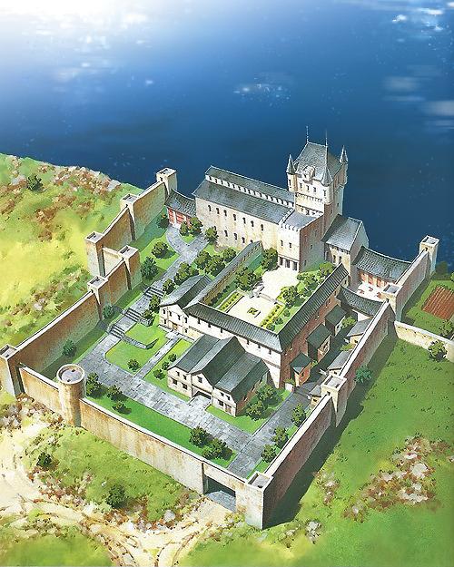 carmenmcs: Suikoden - North Window Castle Found a small but ...