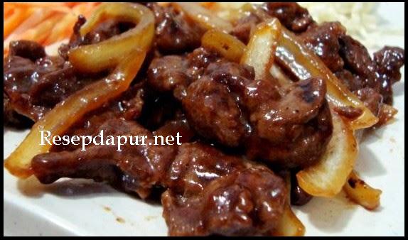 Resep Membuat Daging Sapi Teriyaki Ala Hokben Resep Masakan Korea Masakan Simpel Resep Daging