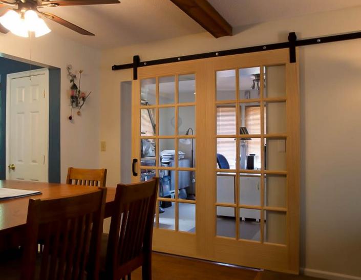 Interior Glass Barn Doors sliding barn door living room   design   pinterest   sliding barn