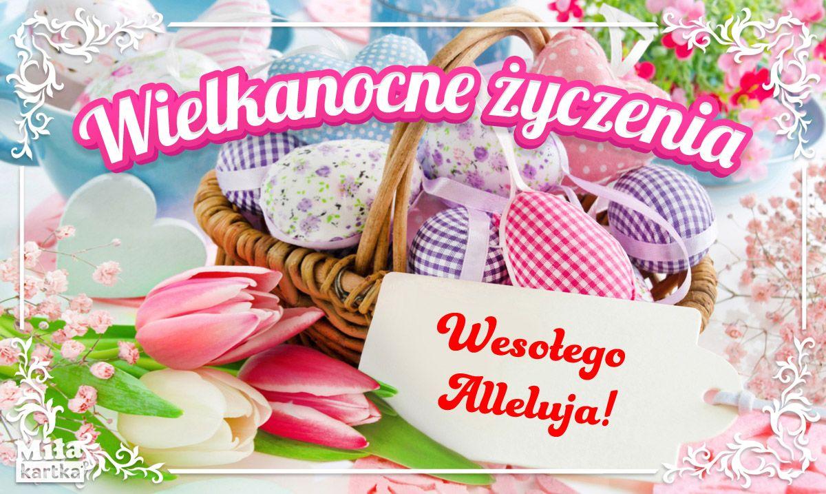 Kartki Wielkanocne Swiateczne Zyczenia Wielkanoc Zmartwychwstanie Jajka Swieta Pozdrawiam Zyczenia Polska Easter Poland K Sugar Cookie Food Greetings