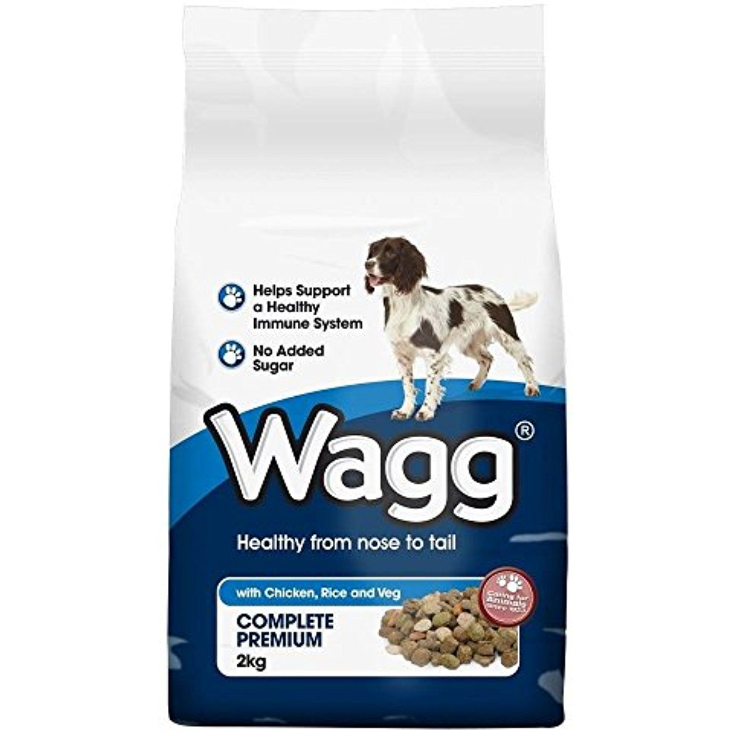 Wagg Complete Chicken Rice Vegetable Dog Food 2kg To Check