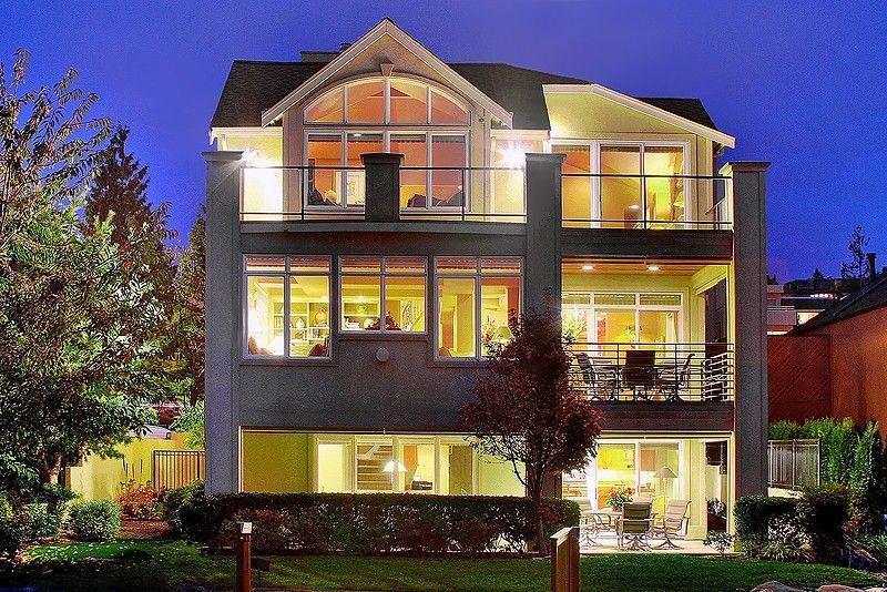Enchanting waterfront home kirkland wa luxury