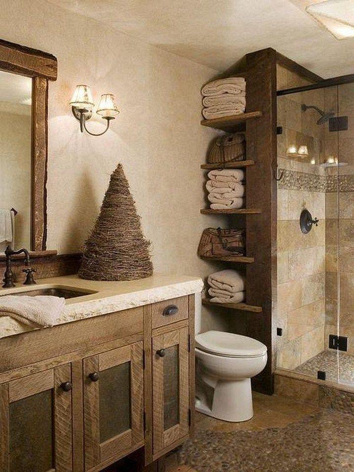 Photo of ✔61 relax rustic farmhouse bathroom design ideas 43 » agilshome.com