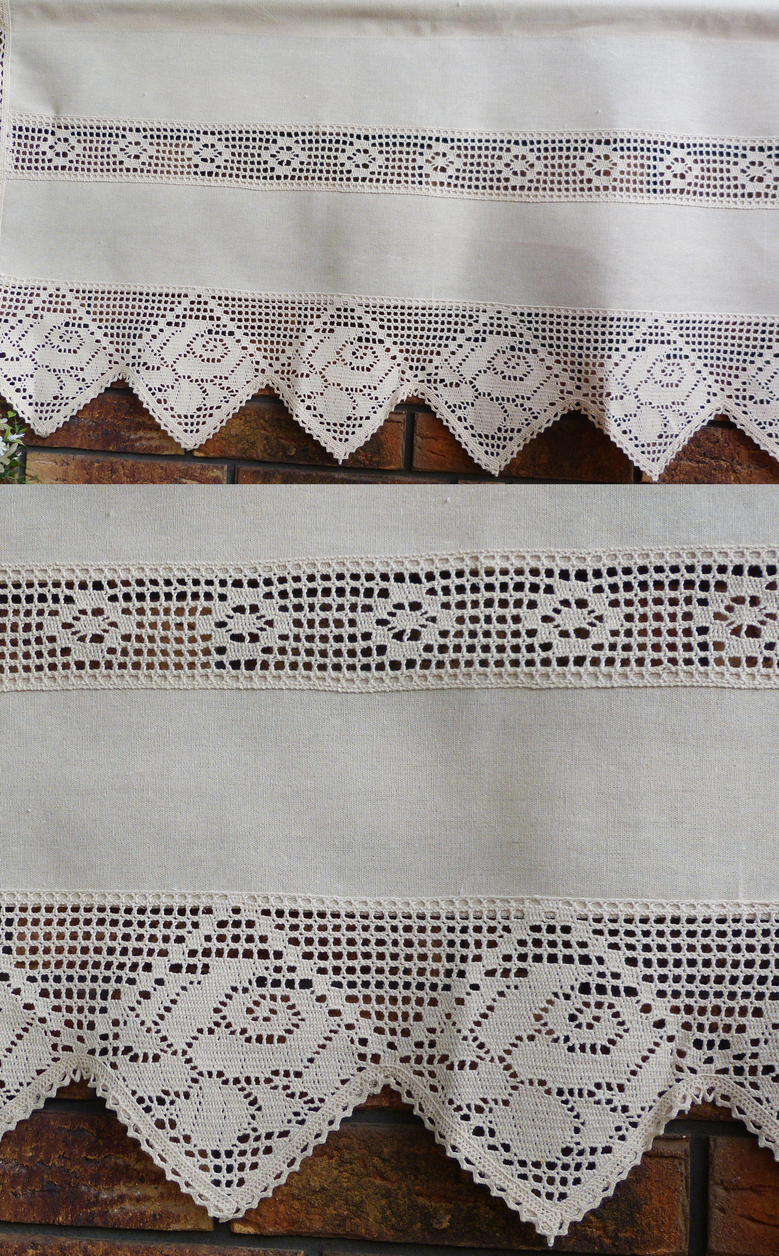 Babcina Zazdrostka Firana 200x50 Bez Koronka Okno 7451891701 Oficjalne Archiwum Allegro Home Decor Decor Curtains