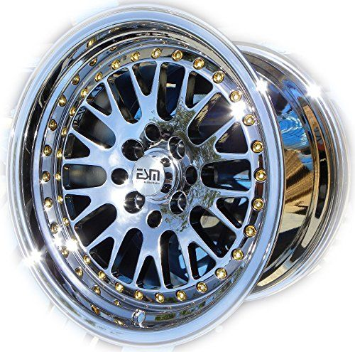 Amazon Com Esm 007 Wheels Rims Pl 15x9 15 4x100 4x114 3 Et 20 Cb 67 1 Esm Wheels Automotive Wheel Rims Esm Wheels Rims