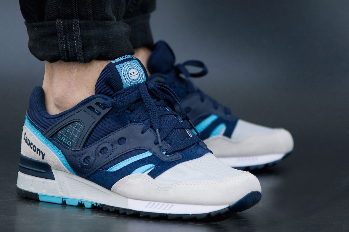 Saucony Grid SD Navy/Grey