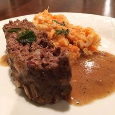 Antelope Meatloaf with Sage Gravy   http://www.nevadafoodies.com/antelope-meatloaf-with-sage-gravy/