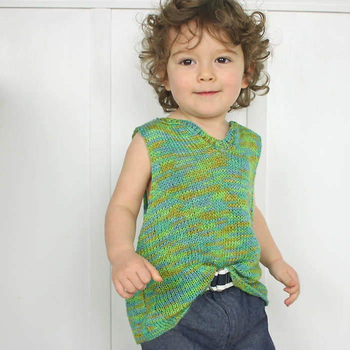 Toddler Knit Tank Top This Knit Top Pattern Is Perfect For Your