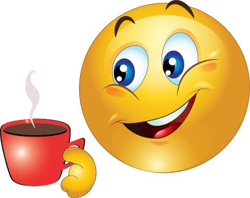 Coffee Cup Smiley | Emoji Themed | Emoticon faces, Smiley emoji, Smiley