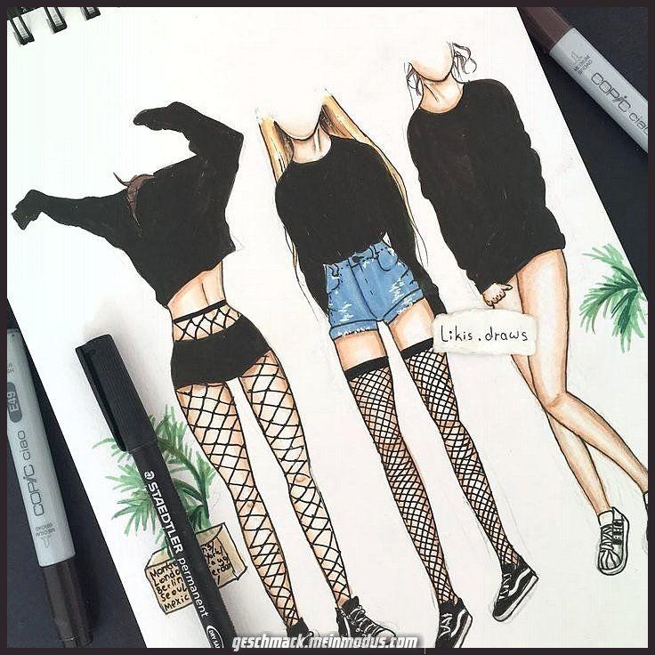 Einzigartige und Kreative Grunge Outfits Buntstifte Ink Klasse - #Klasse #colored #grunge #un... #grungeoutfits