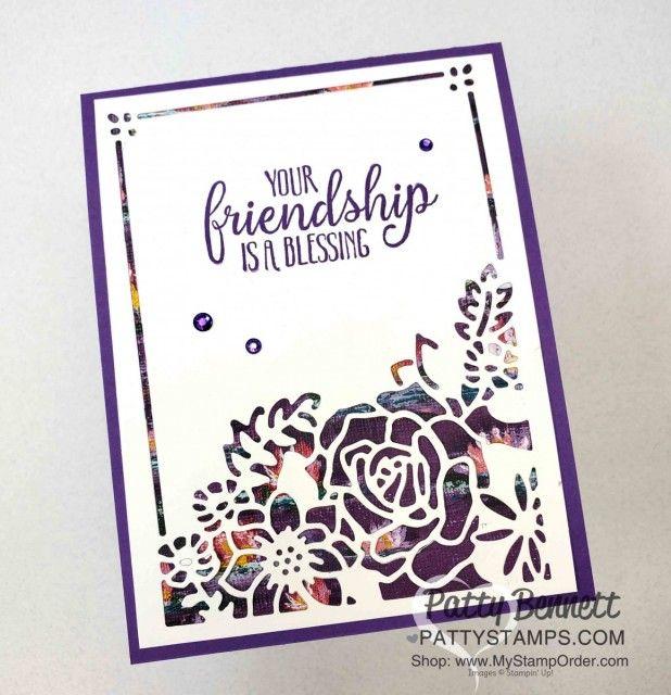 Lasting Elegance Floral Card Idea