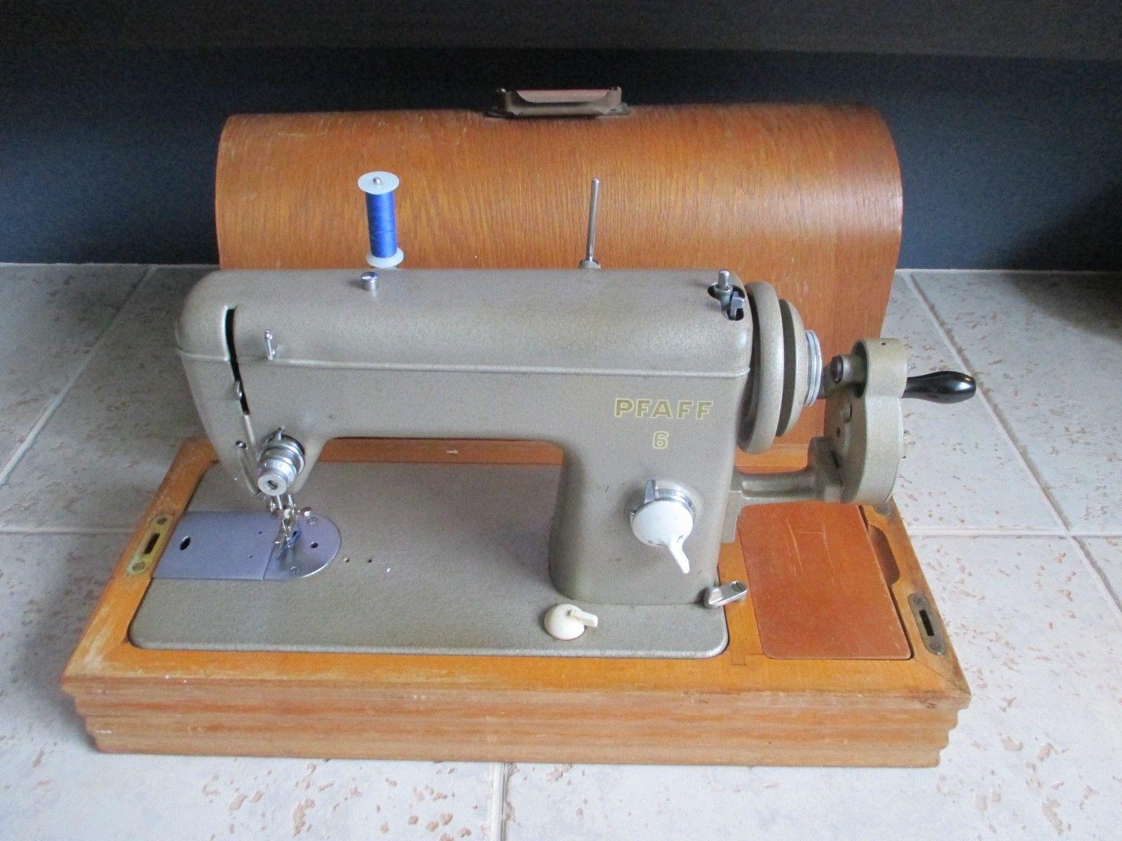Pfaff 6 Industrial Sewing Machine Vintage Heavy Duty 1957