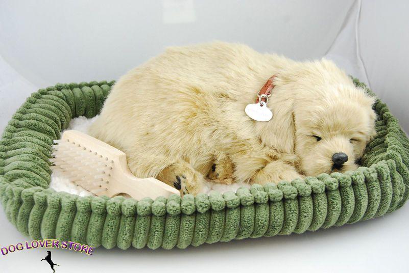 Golden Retriever Perfect Petzzz Life Like Stuffed Animal Breathing