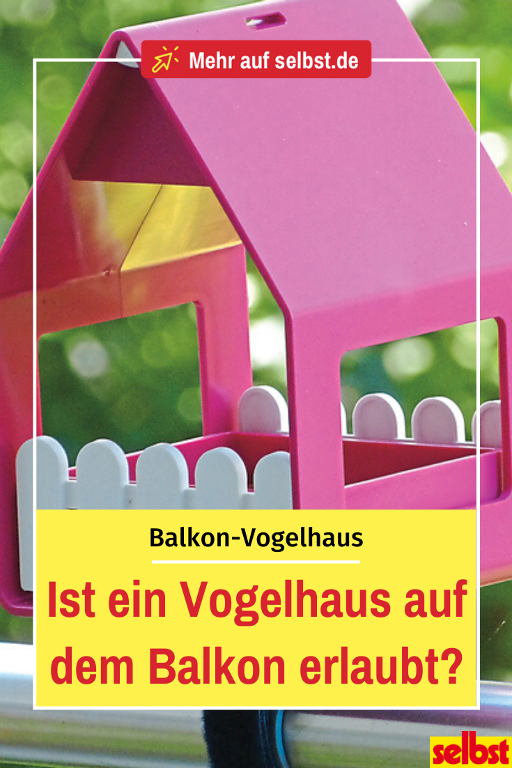 Vogelhaus Fur Den Balkon Selbst De Vogelhaus Balkon Haus