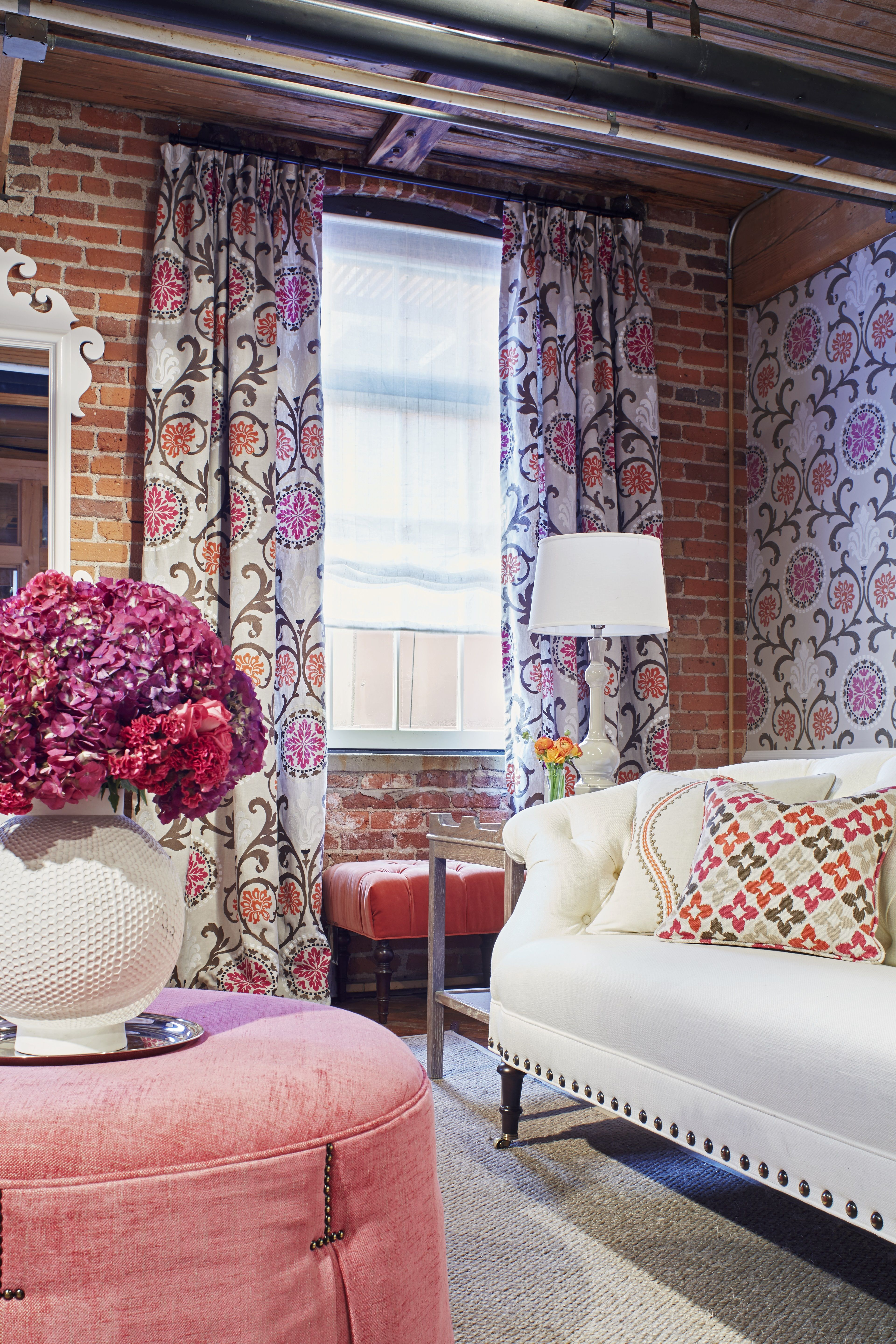 Thibaut Fine Furniture Showroom In High Point, Located At # 260 Historic  Market Square. Seen Here: Kendall Sofa In Cabo Cotton In Pearl, Wyndham  Ottoman In ...