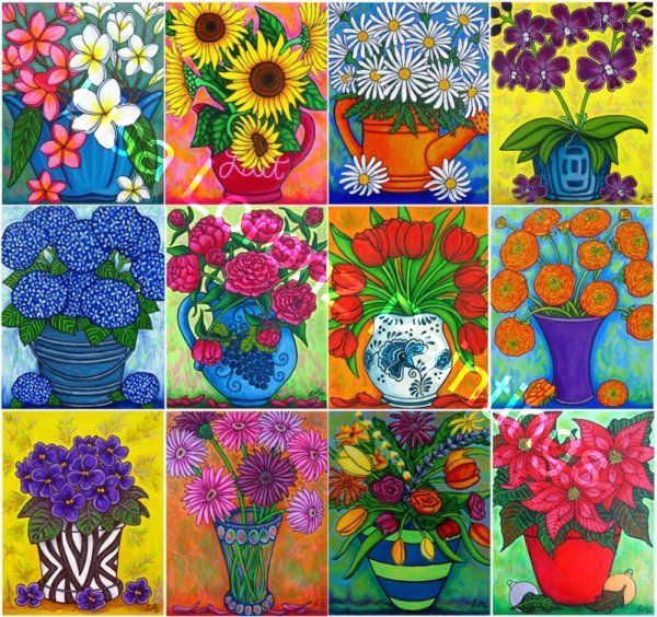 Flora & Nature Art - Lisa Lorenz Paintings \