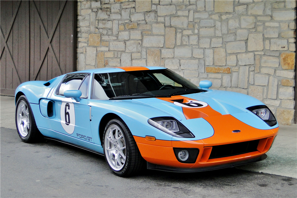 2006 Ford Gt Heritage Edition With Images Ford Gt Ford