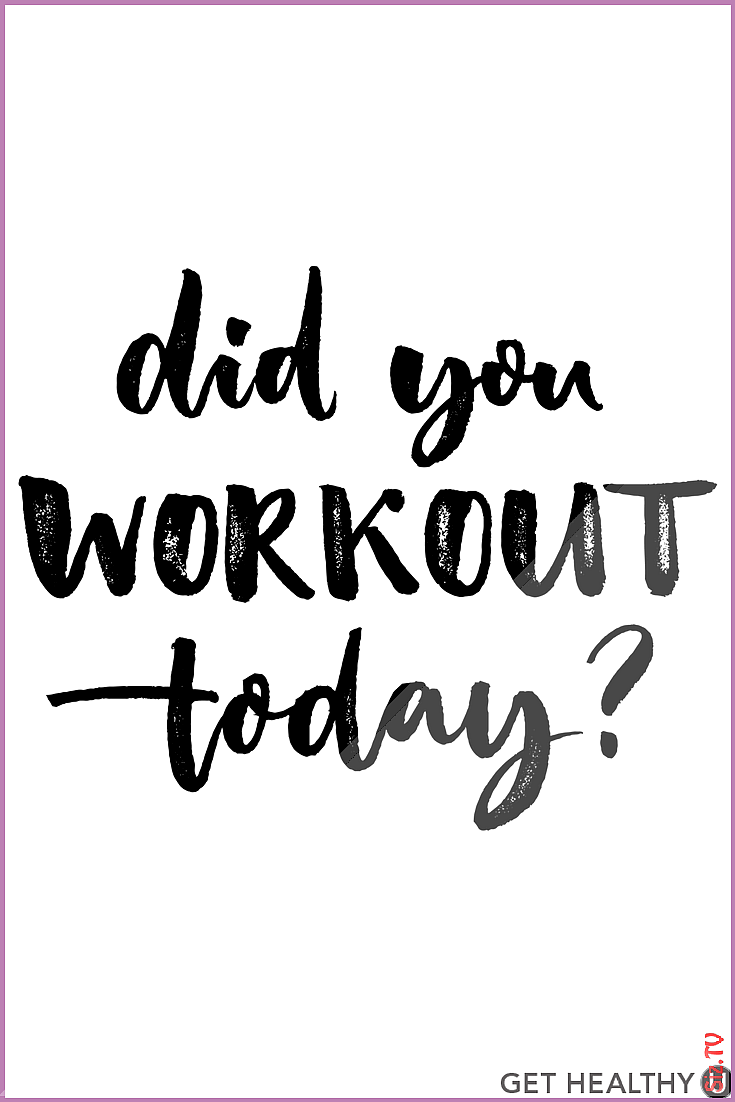 Well did you  Check out Get Healthy U for fitness inspiration healthy lifestyle advice calorie-burni...