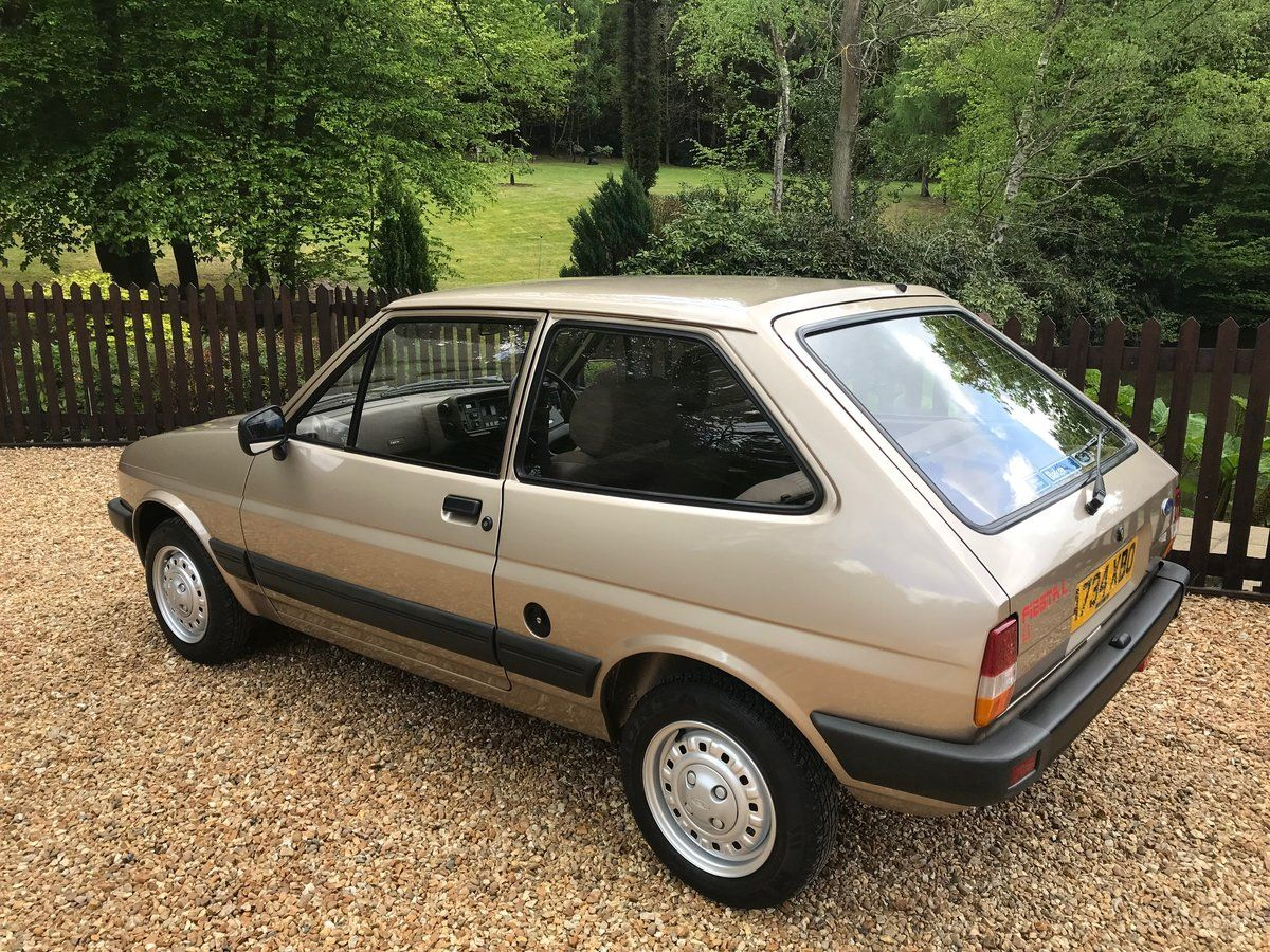 1984 Time Warp Ford Fiesta Mk2 1 1l For Sale Car And Classic In