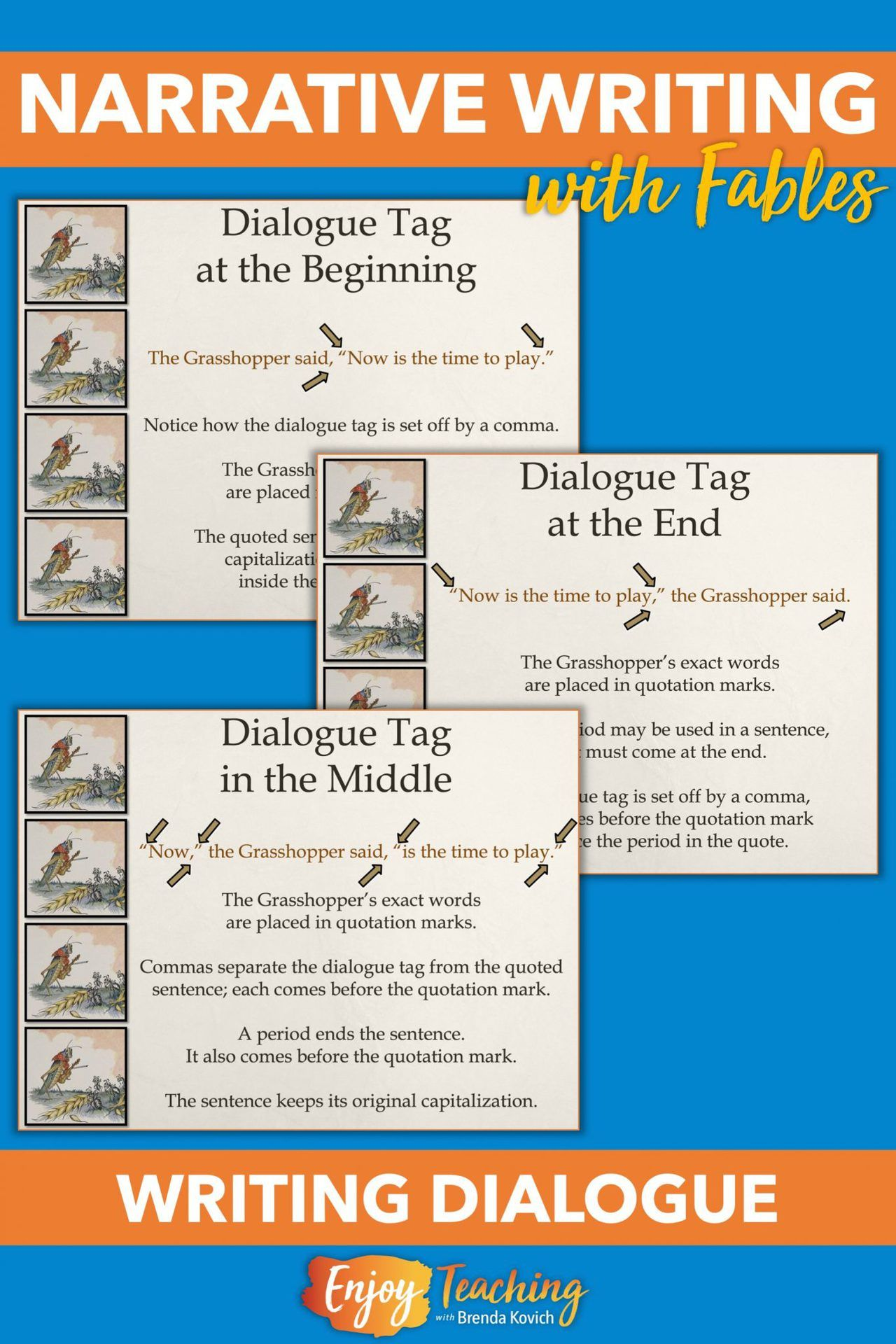 Fables first beginning narrative writing with short