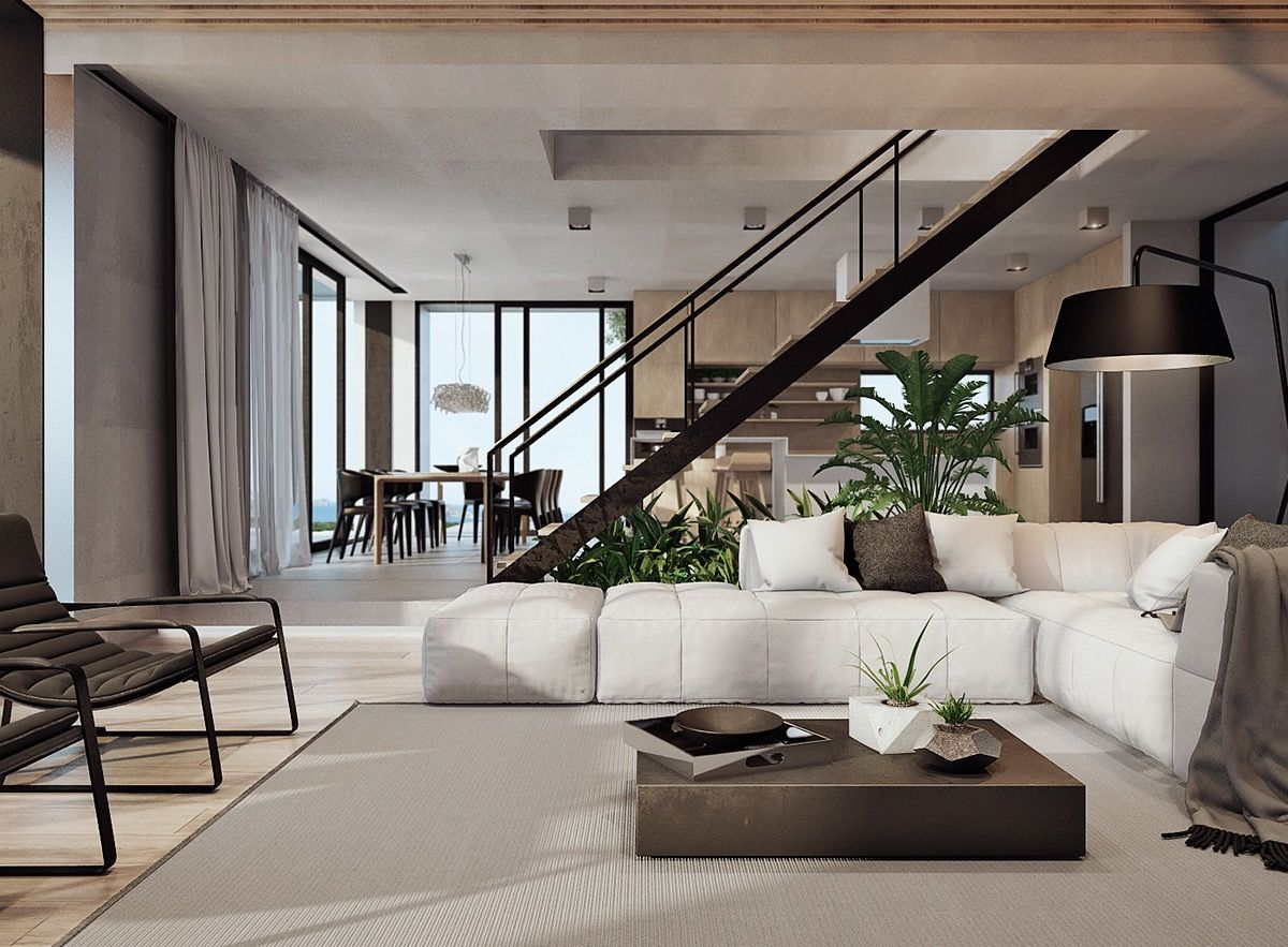 Stunning Costa Rican House With A Spectacular Coastal View Modern Houses Interior Modern Home Interior Design Modern House Design