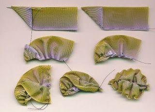 Nostalgic NeedleART: velvet Ribbon Leaves