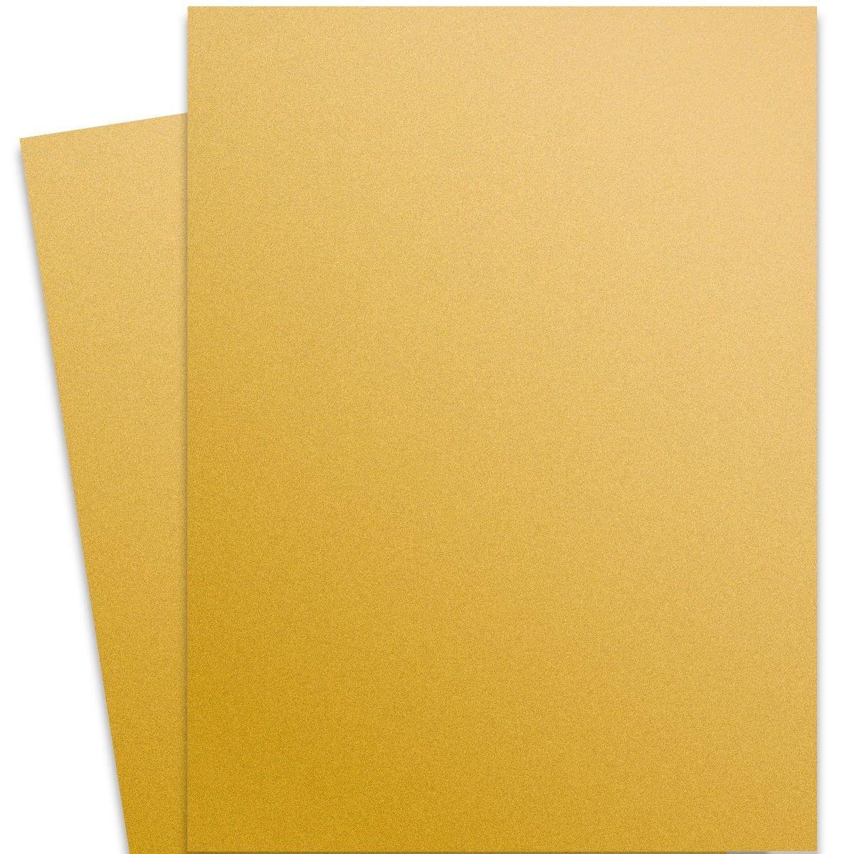 Curious Metallic Super Gold 27x39 Full Size Card Stock Paper 111lb Cover In 2020 Cardstock Paper Gold Paper Paper
