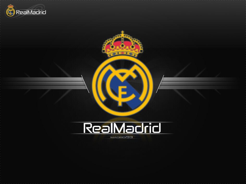 Real Madrid Football Wallpaper Real Madrid Logo Wallpapers