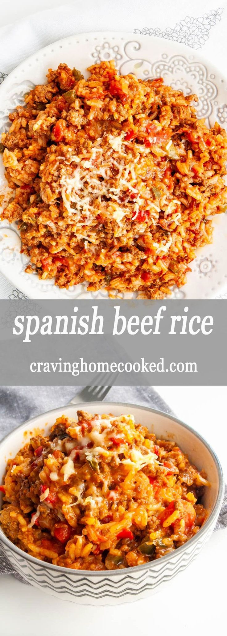 Spanish Rice With Ground Beef In 2020 Beef Recipes For Dinner Beef Recipes Easy Spanish Rice