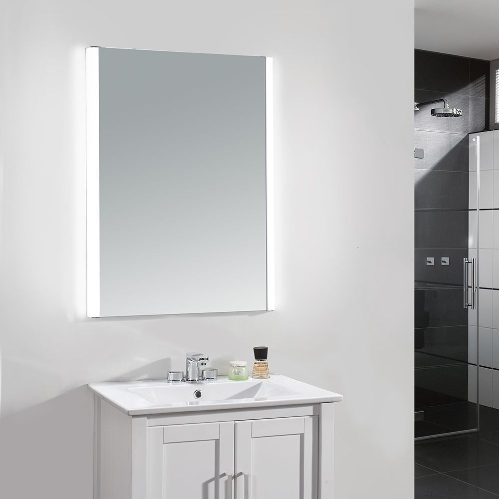 Style and storage come together in this Villon LED mirror cabinet ...
