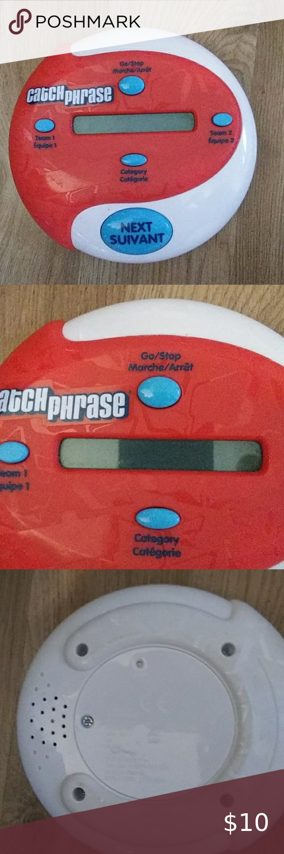 5/25 catch phrase game hand held Tested works no