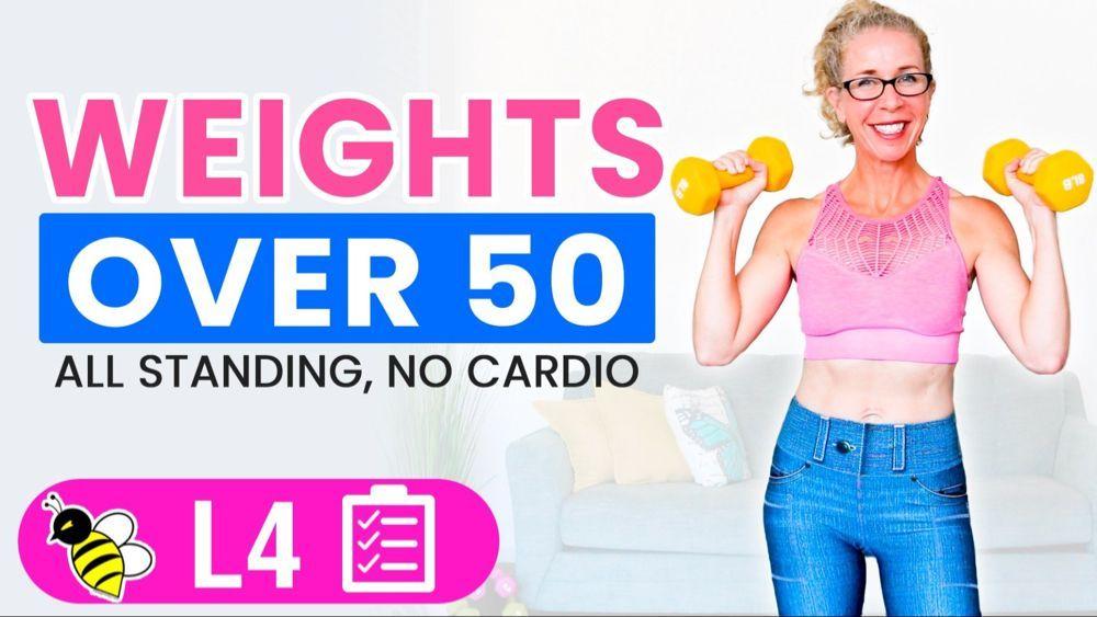 30 Minuten GEWICHT Workout für Frauen über 50 • Pahla B Fitness -  30 Minuten GEWICHT Workout für Fr...