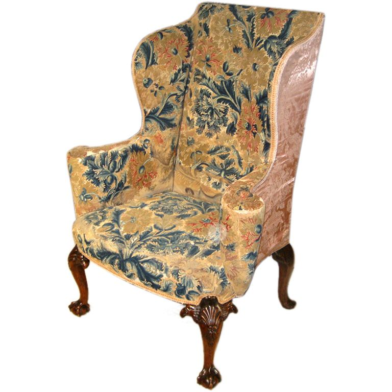 My New Chair Well After It Is Reupholstered 18th Century