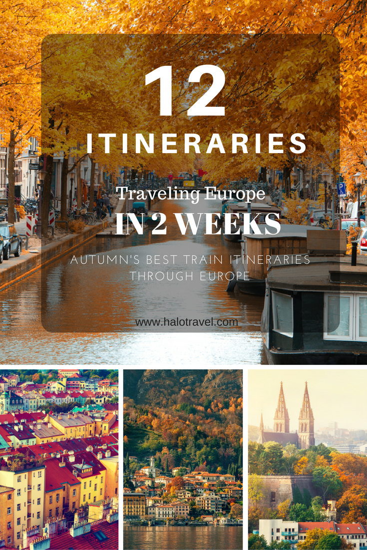 12 amazing europe itineraries are you planning a 2 week holiday to europe we created the best europe itineraries for you all these itineraries can be