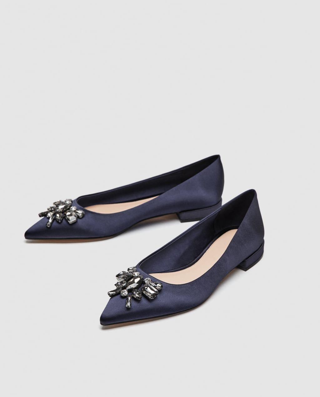 2fbf351b5 Sapatos rasos para Mulher | Moda Online | ZARA Portugal | sapatos ...