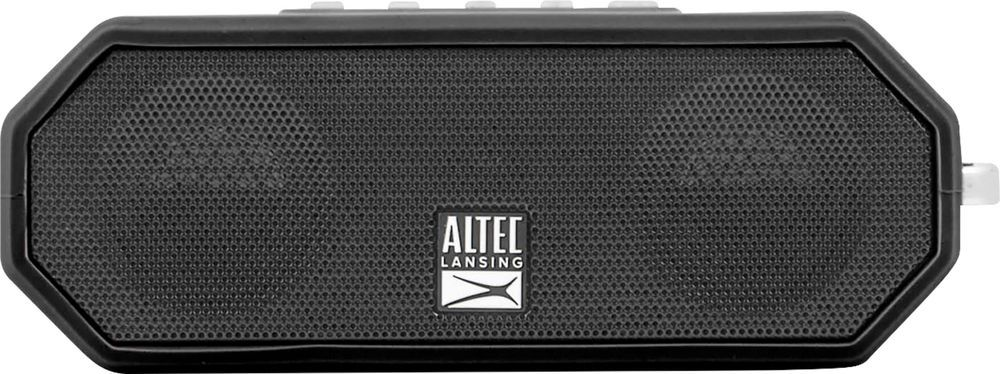 Altec Lansing Jacket H20 4 Portable Bluetooth Speaker Black