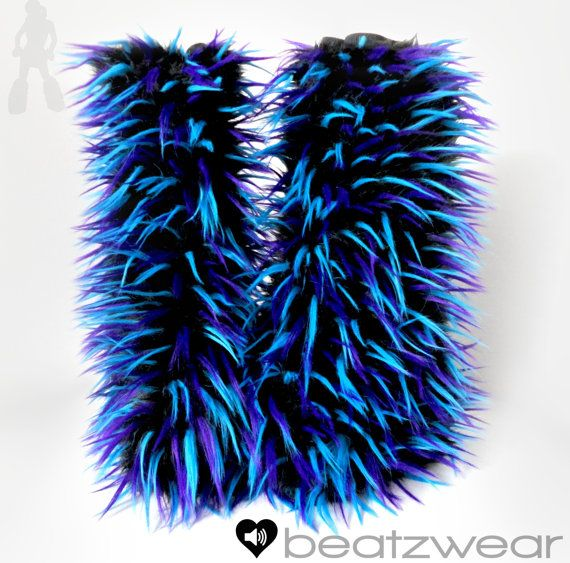UPGRADE   Tall Gogo style fluffies UPGRADE  Furry by BeatBoutique, $9.00