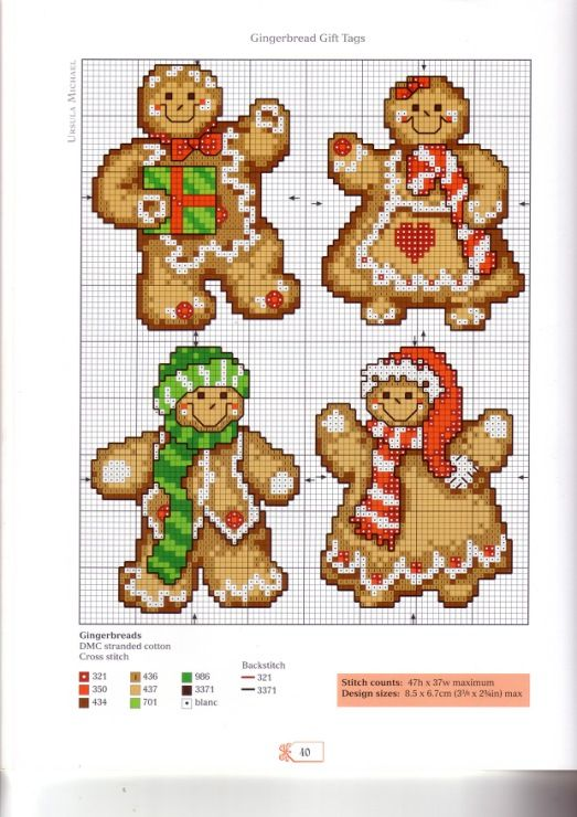 Photo of Gallery.ru / Фото #39 – A Cross Stitcher's Countdown to Christmas – 2008 – l…