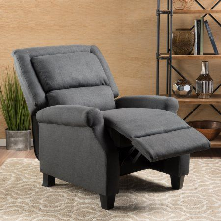 Fantastic Noble House Ringo Dark Grey Fabric Recliner Gray Products Pdpeps Interior Chair Design Pdpepsorg