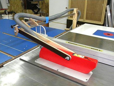 Table Saw Suva Guard System With Dust Collection Table Saw Dust