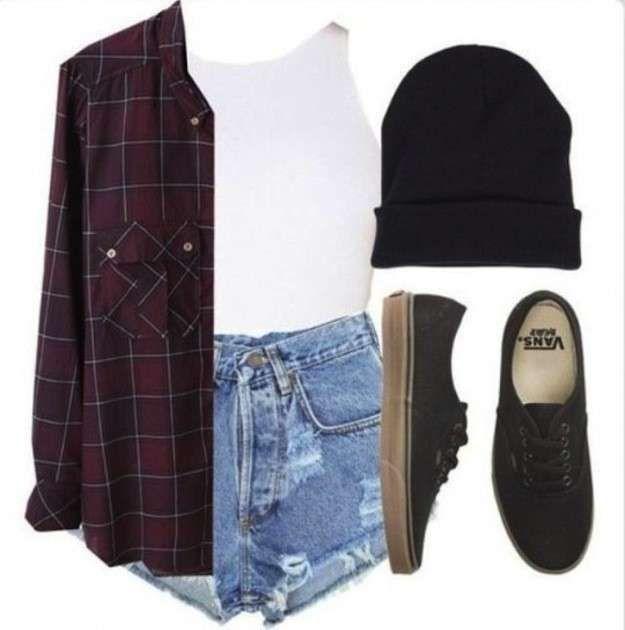 b475a89dc Moda años 90  ropa y accesorios de moda  fotos de los looks - look grunge