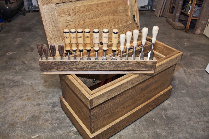 Traveling Anarchist S Tool Chest Woodworking Tools For Sale Tool Chest Used Woodworking Tools