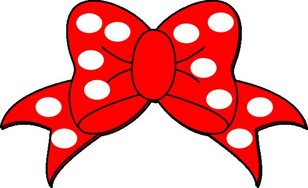 Clip Art Bows Polka Bow Clip Art Vector Clip Art Online Royalty Free Public Minnie Mouse Silhouette Minnie Mouse Bow Mickey Mouse Silhouette